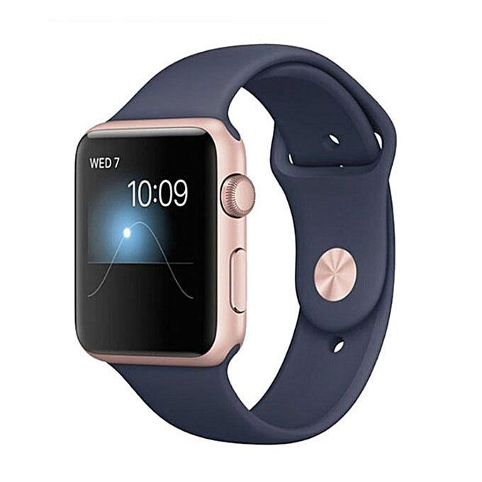 Z9G Smart Watch Sim Sports and Android Mate - Navy Blue and Golden